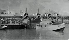 The Samoan Clipper, a Sikorsky S-42 Flying Boat operated by Pan American Airways. This aircraft was destroyed by an aerial explosion while dumping fuel in preparation for an emergency landing at Pago Pago on 11 January 1938.