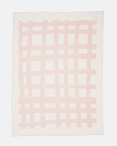 Sea Tangle Linen Throw in Crystal Pink by Kate & Kate