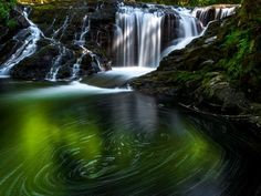 Sweet Creek Trail, near Florence, is an easy route filled with waterfalls