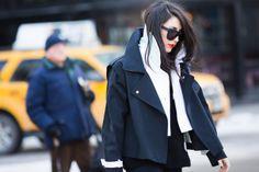Streetlooks à la Fashion Week automne-hiver 2014-2015 de New York