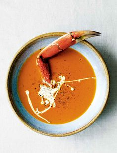 Crab Soup Recipe from @leitesculinaria