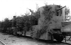russian armored train with the DA-2 AA MGs