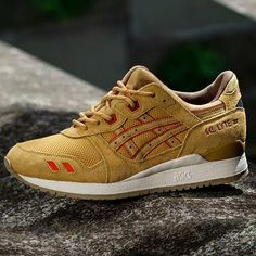 New in stock - Asics Gel Lyte III Honey Mustard - sizes: 36 to 47 - price: €109,99 #asics #honey #mustard #gel #lyte #frontrunner