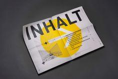 Orientierung im Raum, german for Personal Identity, Grid System, Editorial Design, Print Design, Typography, Behance, Design Inspiration, Branding, Magazine