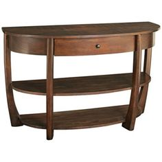 Hammary by La-Z-Boy Concierge Wood Console Table - #Y2440 | LampsPlus.com