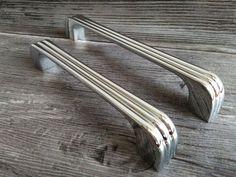 Silver//96mm Retro Antique furniture handle furniture handle handles fittings Bow Handle 02s