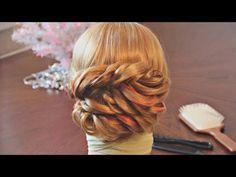 Причёска из колосков - Лёгкая! - YouTube