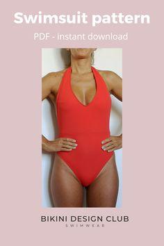Swimsuits, Bikinis, Swimwear, Swimsuit Pattern, One Piece Swim, Perfect Fit, Boobs, Size 2, Patterns
