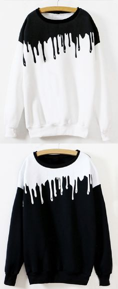 Only $21.99,7 Days Shipping& Easy Return!Start the day right with this water-drop printing sweatshirt! It will put a pep in your step from get go! Over in it in a real way at Cupshe.com now.
