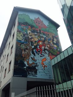 Brussels Cartoon Graffiti