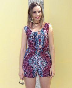 Bianca Schultz   Blog de Moda e Beleza: Look: Macaquinho