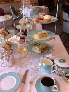 High tea at Fortnum & Mason, London