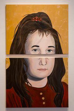Esther, acrylic, 2014, Anna Parks