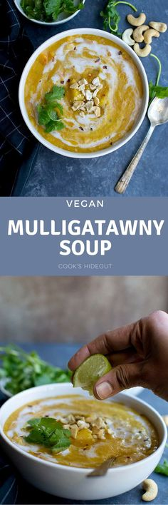 Vegan Mulligatawny Soup is a creamy and hearty dish that is perfect for the chilly weather. Serve it with rice or bread for a complete and filling meal.