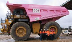 Pink truck raises cancer awareness in Australia