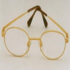 18k gold spectacle frame gold eyewear frame spectacles