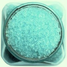 - Much chunkier and larger than traditional sanding sugar, pretty pastel blue chunky sugar adds a very pretty sparkle to all your sweet goodies! - Our absolute favorite sprinkles to top cupcakes with!