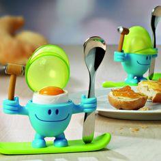 Παιδική αυγοθήκη με κουτάλι σειρά McEgg, WMF Wmf, Grape Vines, Cake, Desserts, Food, Stainless Steel, Tailgate Desserts, Deserts, Vineyard Vines