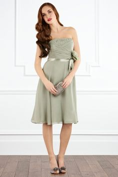 Bridesmaids dresses, tho I would've had a different color :)