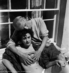 Leonora Carrington and Max Ernst, Lambe Creek, Cornwall, England, 1937