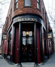 Macleod's Scottish Bar in Ballard. Seattle, Washington