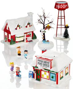 Department 56 Peanuts Village Collection