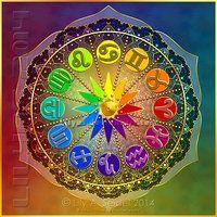 73 Best Colorful Mandalas Images Flower Of Life Fractals Mandalas
