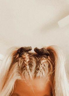 Cute Hairstyles For Teens, Easy Hairstyles For Long Hair, Teen Hairstyles, Simple Homecoming Hairstyles, Simple Hairstyles For School, Hairstyles Videos, Casual Hairstyles, School Hairstyles, Vintage Hairstyles