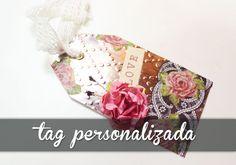 Tag Personalizada - Latonagem fake