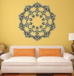 Wall Stickers Mandala Buddhism Mascot Amulet Art Mural Vinyl Decal (ig1991)