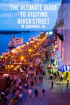 The Ultimate Guide to Visiting River Street in Savannah, GA | Sand Sun & Messy Buns - http://sandsunandmessybuns.com/ultimate-guide-river-street-savannah-ga/