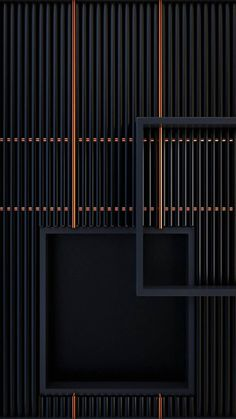 New wallpaper black dark interior design 69 ideas Screen Design, Door Design, Wall Panel Design, Facade Design, Design Art, Interior Walls, Interior Design, Partition Screen, Partition Walls