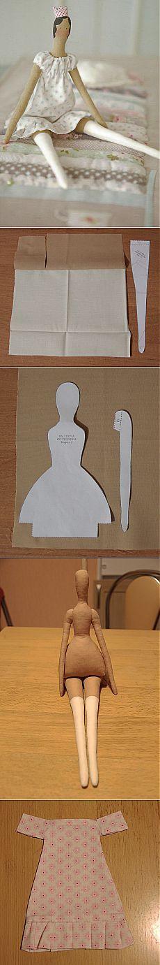 Tilde princesa camisón clase magistral detallada |  Tilde Master (tildamaster)