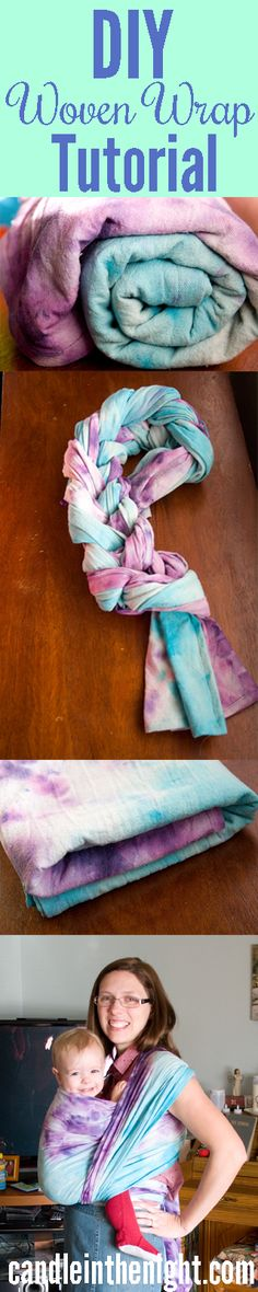 Really detailed instructions on how to make your own DIY woven wrap!