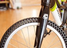 One company is offering two unique solutions to a flat tire. They say these tires will never go flat on you during a bike trip ever again!