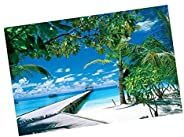 Jigsaw Puzzle for Adults 1000 Pieces Beach Landscape Bay Castle Jigsaw Large Puzzle Game Toys