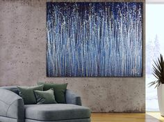 Buy Daydream panorama (Natures imagery) 11, Acrylic painting by Nestor Toro on Artfinder. Discover thousands of other original paintings, prints, sculptures and photography from independent artists. Large Painting, Acrylic Painting Canvas, Cut Canvas, Dark Blue Background, Blue Backgrounds, Lovers Art, Daydream, Abstract Art, Angels