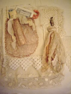 "Page for Lisa's book in ""Her Life in Stitches"" by skblanks, via Flickr"
