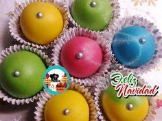 Bolas de mazapán de colores | Cocinar en casa es facilisimo.com