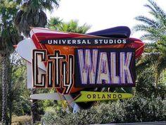 Universal CityWalk, International Drive - Nightclubs, restaurants and music venues. This Universal Studios spot has everything. Orlando Florida Attractions, Orlando Vacation, Florida Vacation, Florida Travel, Florida Honeymoon, Universal Studios Florida, Universal Orlando, International Drive, Florida Holiday