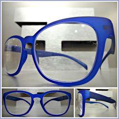 7dee7fe0eb88 Men s or Women Vintage Retro Style READING EYE GLASSES READERS Matte Blue  Frame  Unbranded  VintageRetro