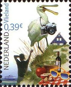 Stamp: pretty Netherlands-Vlieland (Netherlands) (Pretty Netherlands) Mi:NL…