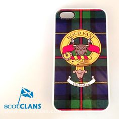 We have one of these Clan MacLeod iPhone cases at a discounted price.