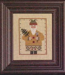 Wee One: Wee Santa 2009 - Cross Stitch Pattern  by Heart In Hand Needleart