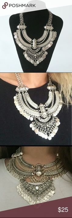 SALE!!! Nwt Bohemian coin necklace Beautiful  bohemian coin necklace Jewelry Necklaces