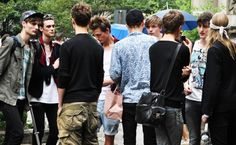 tommy ton, male models' exit