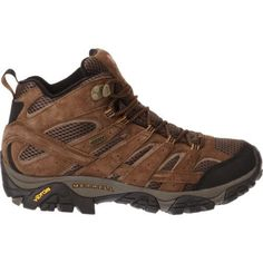 Merrell® Men's Moab 2 Mother-of-All-Boots™ Waterproof Hiking Shoes (Earth, Size 12) - Men's Outdoor at Academy Sports