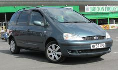 *** CAR FOR SALE *** AutoZone Bolton - Cambrian Cars Ltd – Used Cars Dealers in Bolton, Lancashire are  Listing the following Vehicle For Sale - MV52LFG - 2002 - Ford Galaxy 1.9TDI ( 115ps ) 2002MY Zetec - Used - Mileage: 158000 - £1295 http://www.justusedvehicles.com/autozone---bolton---lancashire.html  #usedcars #fastcars #cars #usedcarparts #carparts #automotive #motoring #parts #carphotography #audi #sportcar #nicecar