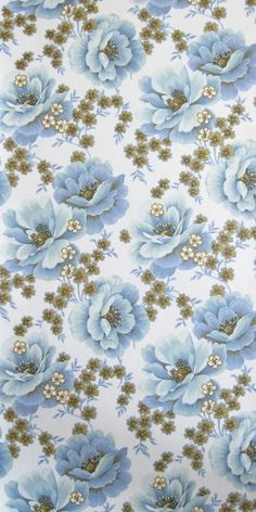 Stiepel | Flower Wallpaper | Vintage Wallpaper | Johnny-Tapete