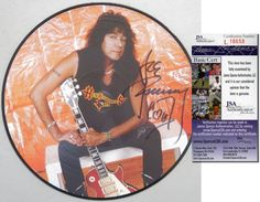 ACE FREHLEY Hand Signed Ltd. Edition Back to Black Picture Vinyl - KISS - JSA in Collectibles, Autographs, Music | eBay